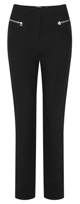 Robell Trousers Mimi Plain Full Length Trouser Black