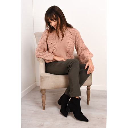 Robell Trousers Bella 78cm Slim Full Length Trouser - Brown