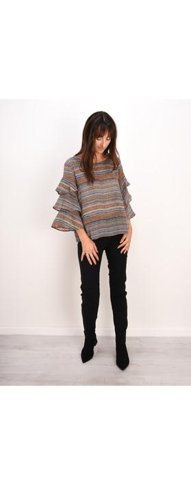 Robell Trousers Bella 78cm Slim Full Length Trouser Black