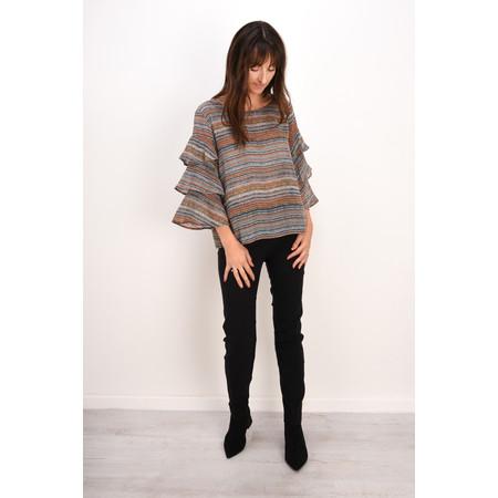 Robell Trousers Bella 78cm Slim Full Length Trouser - Black