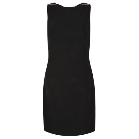 Lauren Vidal Clyde Back Detail Dress - Black