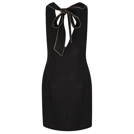Lauren Vidal Clyde Back Detail Dress - Black