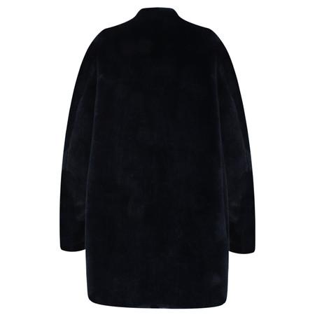 Lauren Vidal Luna Faux Fur Shearling Jacket - Blue