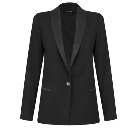 Lauren Vidal Eden Tux Jacket - Black