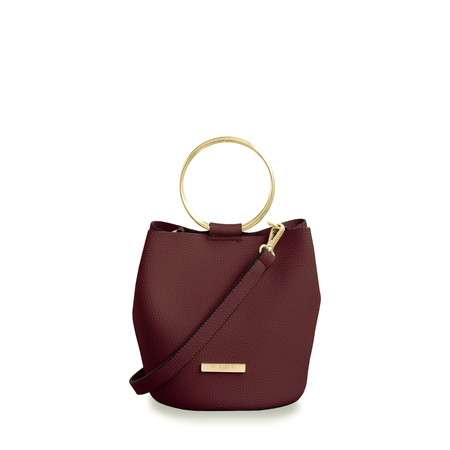 Katie Loxton Suki Mini Bucket Bag - Red