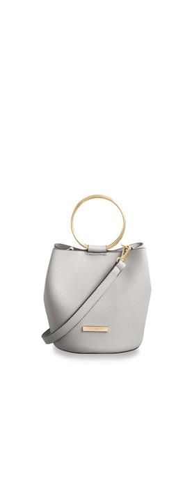 Katie Loxton Suki Mini Bucket Bag Pale Grey
