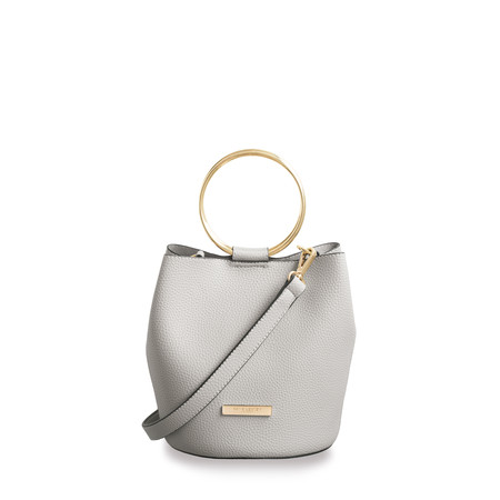 Katie Loxton Suki Mini Bucket Bag - Grey