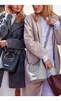 Katie Loxton Pale Grey Suki Mini Bucket Bag