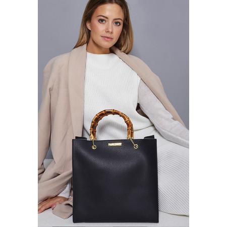 Katie Loxton Amelie Bamboo Handbag - Black