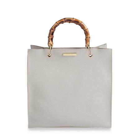 Katie Loxton Amelie Bamboo Handbag - Grey