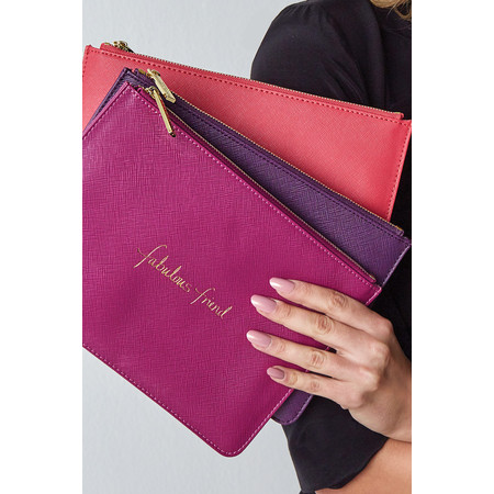 Katie Loxton Perfect Pouch - J'adore - Red