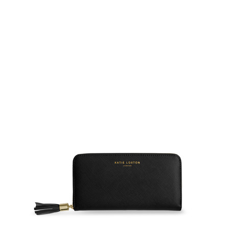 Katie Loxton Tassel Large Purse - Black