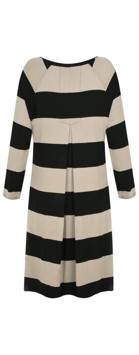 Masai Clothing Wide Stripe Grisla Tunic Khaki Org