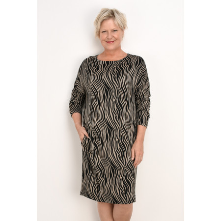 Masai Clothing Oversize Nolene Dress - Brown