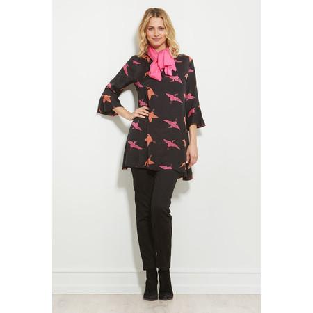 Masai Clothing Gyrils Bird Print Tunic - Pink