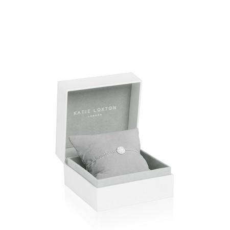 Katie Loxton Sterling Silver Bracelet - Sparkle Everyday - Metallic