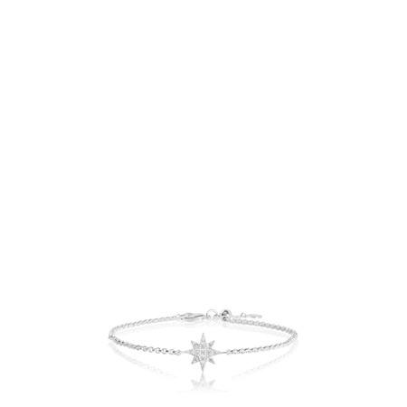 Katie Loxton Sterling Silver Bracelet - Be Brilliant - Metallic