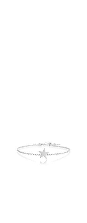 Katie Loxton Sterling Silver Bracelet - Time To Shine Silver