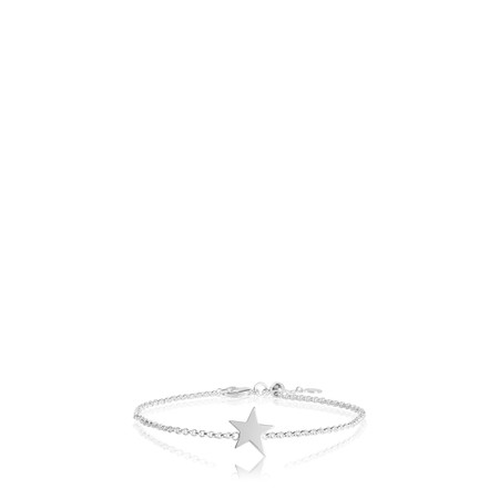Katie Loxton Sterling Silver Bracelet - Time To Shine - Metallic
