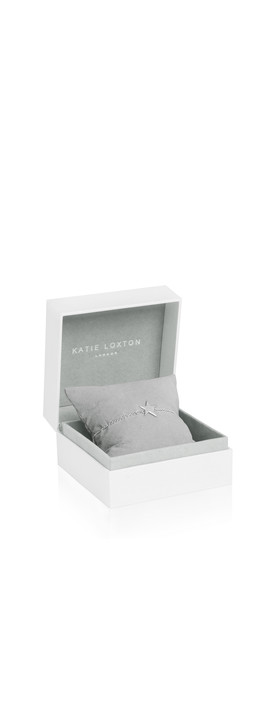 Katie Loxton Sterling Silver Bracelet - Time To Shine Silver