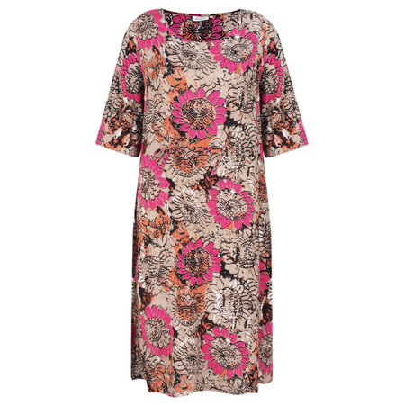 Masai Clothing Nicky Bold Floral Dress - Pink