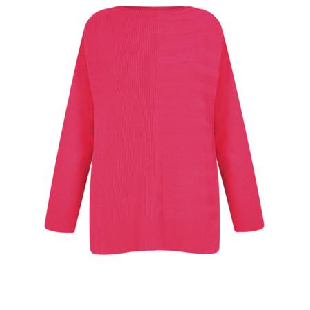 Masai Clothing Fleur Stripe Knit Jumper - Pink