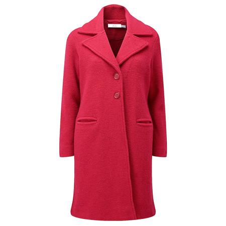 Adini Ferrara Wool Claudia Coat - Red