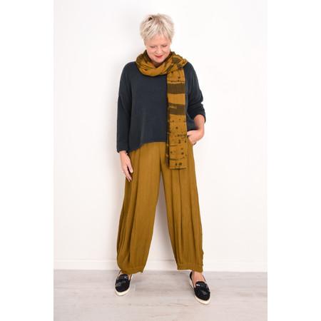 Grizas Vilma Solid Crinkle Trouser - Beige