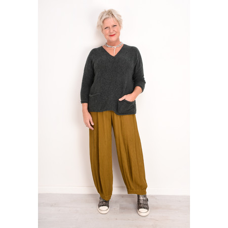 Grizas Tina Soft Knit Jumper - Grey