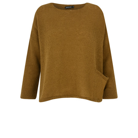 Grizas Martyna Soft Knit Jumper - Beige