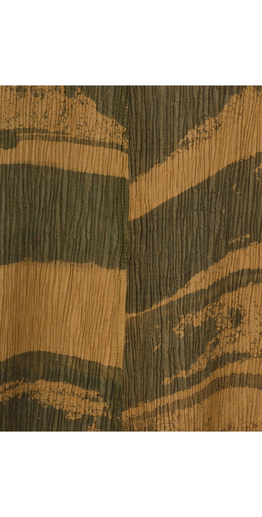 Aneta Brush Stroke Crinkle Tunic main image