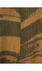 Grizas Golden Khaki Aneta Brush Stroke Crinkle Tunic