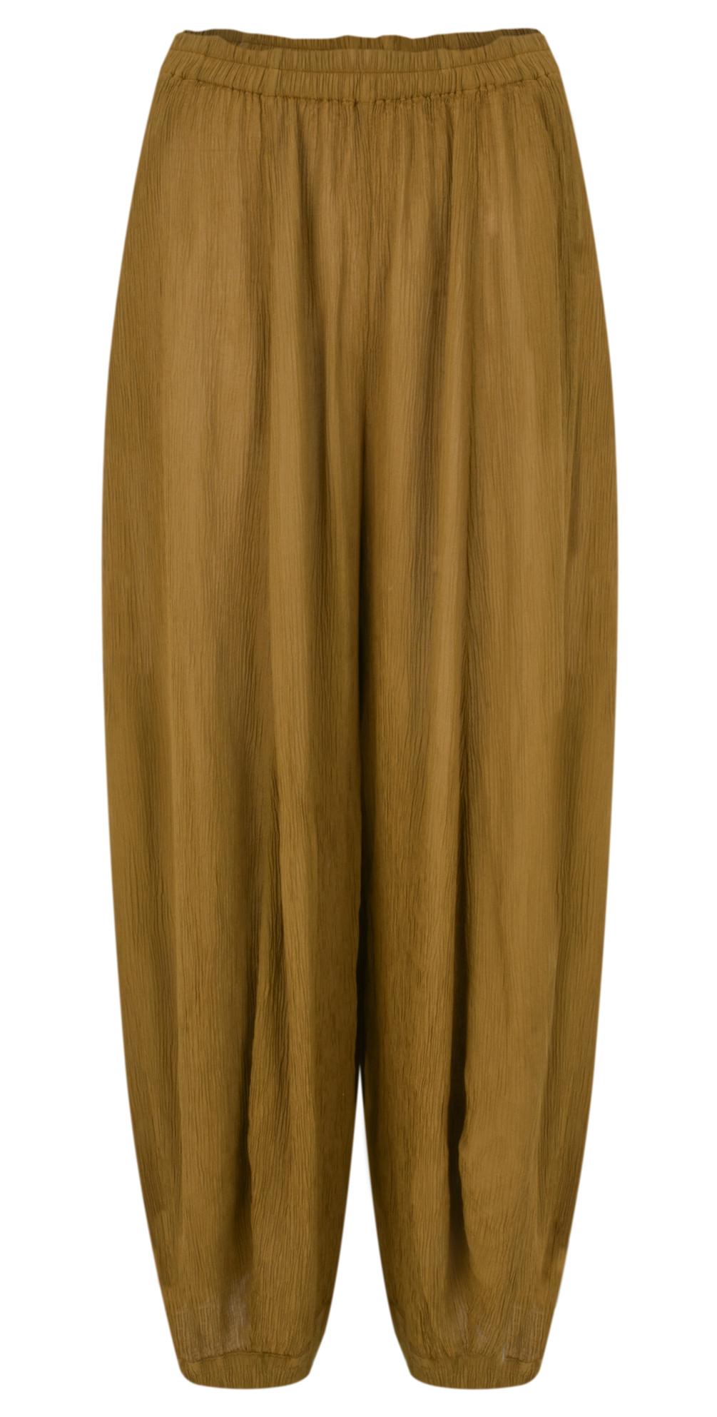 Vilma Solid Crinkle Trouser main image