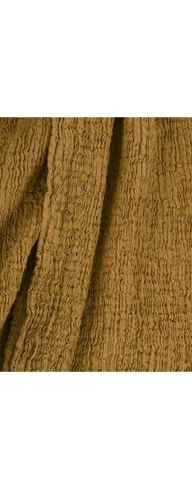 Grizas Margi Crinkle Scarf Golden Khaki