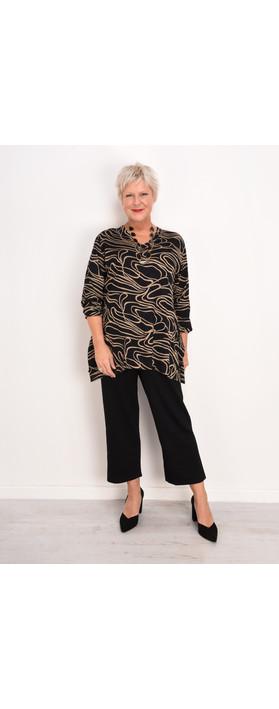 Masai Clothing Persilla Culotte Trousers Black