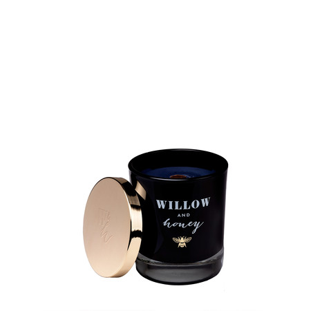 Willow and Honey Fig And Cassis Candle - Transparent