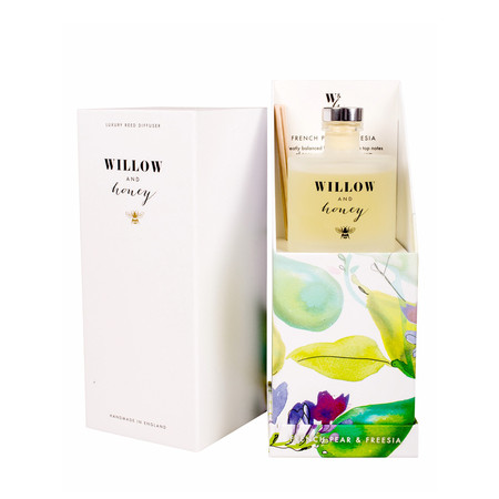 Willow and Honey French Pear And Freesia Diffuser - Transparent