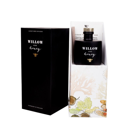 Willow and Honey Cuban Tobacco And Oak Diffuser - Transparent