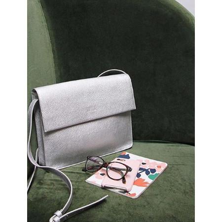 Caroline Gardner Hoxton Cross Body Handbag  - Metallic