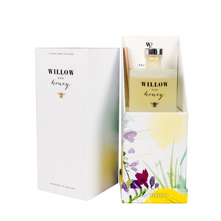 Willow and Honey Eau Verbena Diffusser - Transparent
