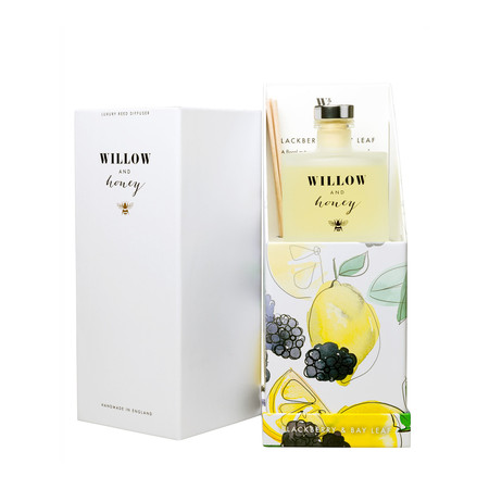 Willow and Honey Blackberry And Bay Leaf Diffuser - Transparent