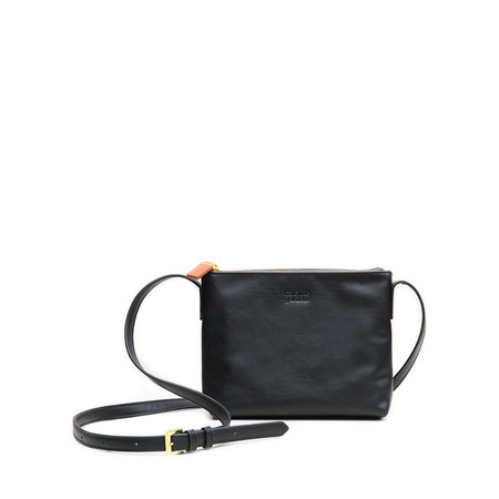 Caroline Gardner Finsbury Small Cross Body Bag - Black
