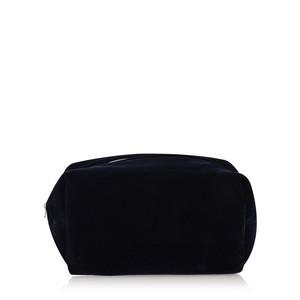 Caroline Gardner Velvet Cube Cosmetic Bag