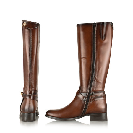 Luis Gonzalo Fiona Long Boot - Brown