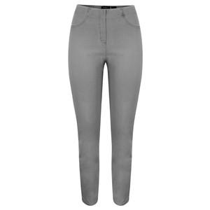 Robell  Bella Dark Grey Slim Fit Full Length Jean