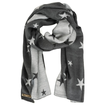 Katie Loxton Blanket Star Scarf - Black