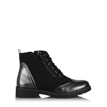 Marco Tozzi Gabrielle Brogue Nancy Boot - Black