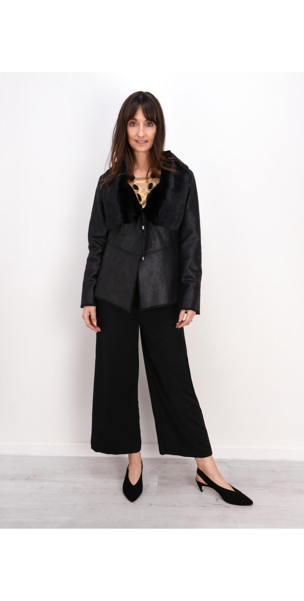 Luna Faux Leather Jacket main image