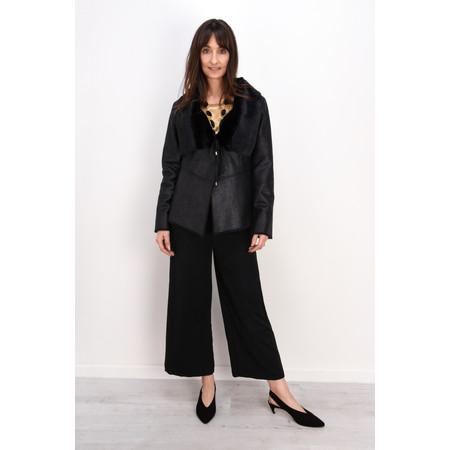 Lauren Vidal Luna Faux Leather Jacket - Black