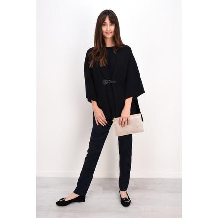 Lauren Vidal Eden Oversized Poncho - Blue